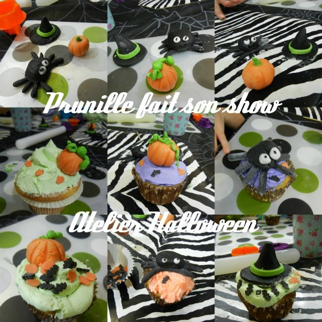 collage halloween cupcakes prunillefee