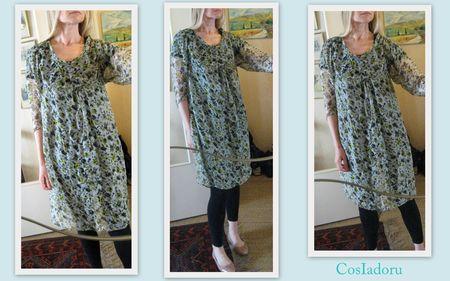 Simple style dress