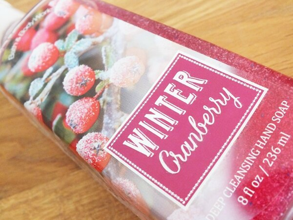2 Winter Cranberry Bath and Body Works