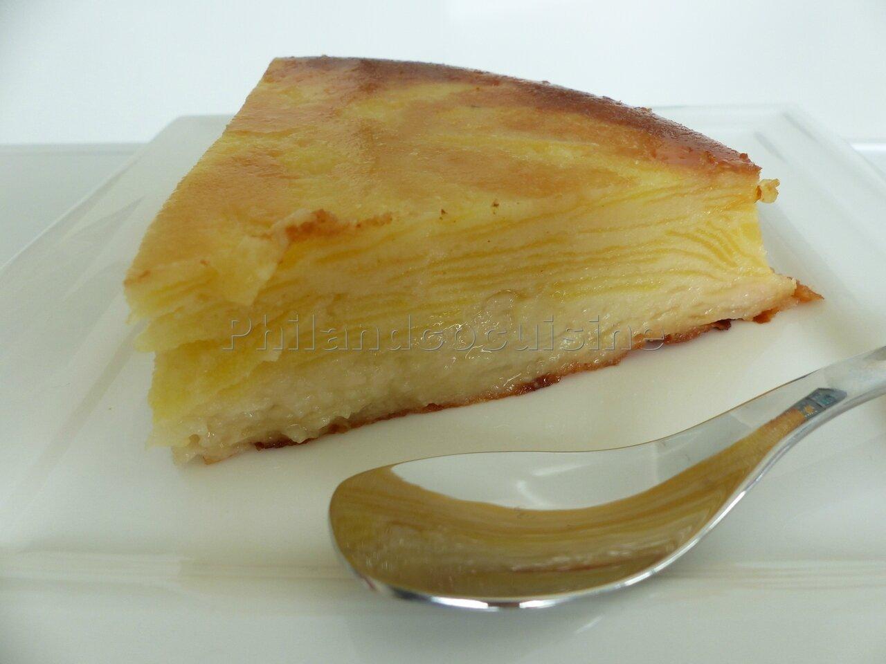 Gâteau invisible pomme/poire