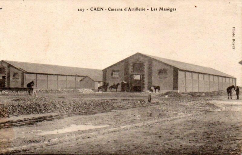 Caen caserne d'artillerie les Manèges