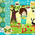 Carte Anniv Natalia 11ans -2015