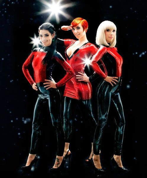 Star Trek latex sexy 5