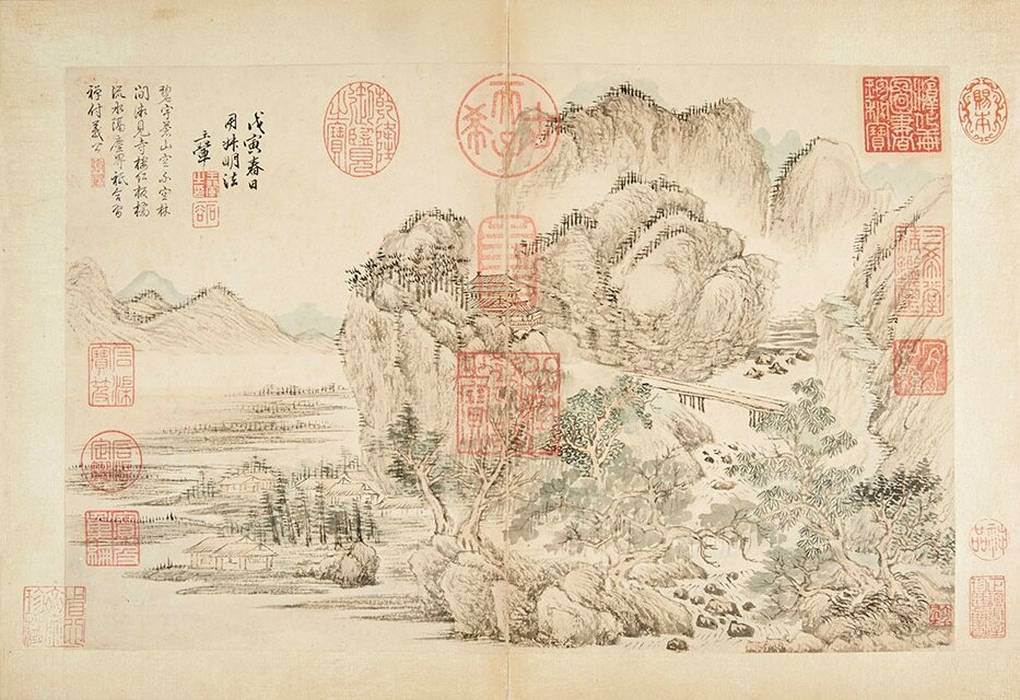 Masterpieces treasured by Qianlong Emperor for sale at Bonhams