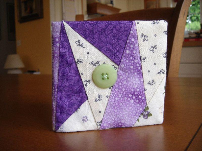 Porte-aiguilles paper piecing