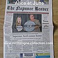 The Napanee Beaver-Newspaper (27 octobre 2011)