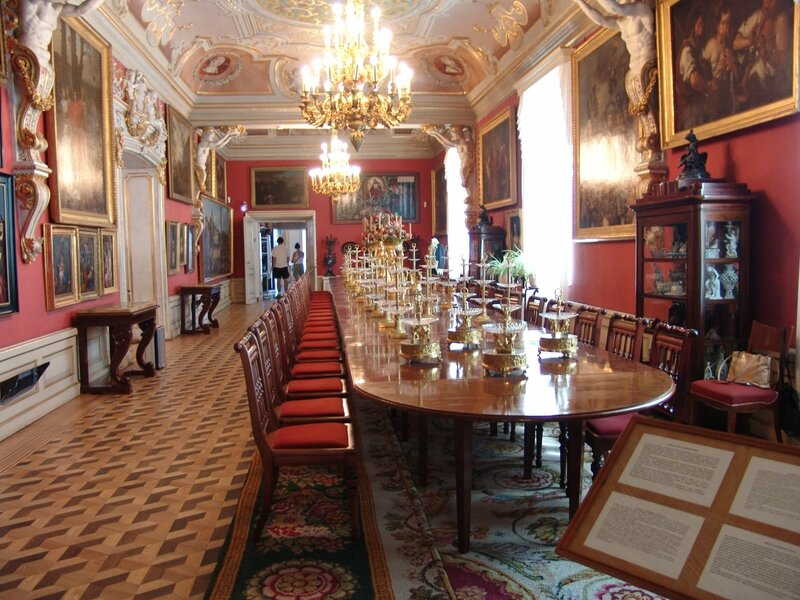 Wilanow_dining_room