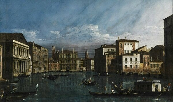 Le Grand Canal par Belloto