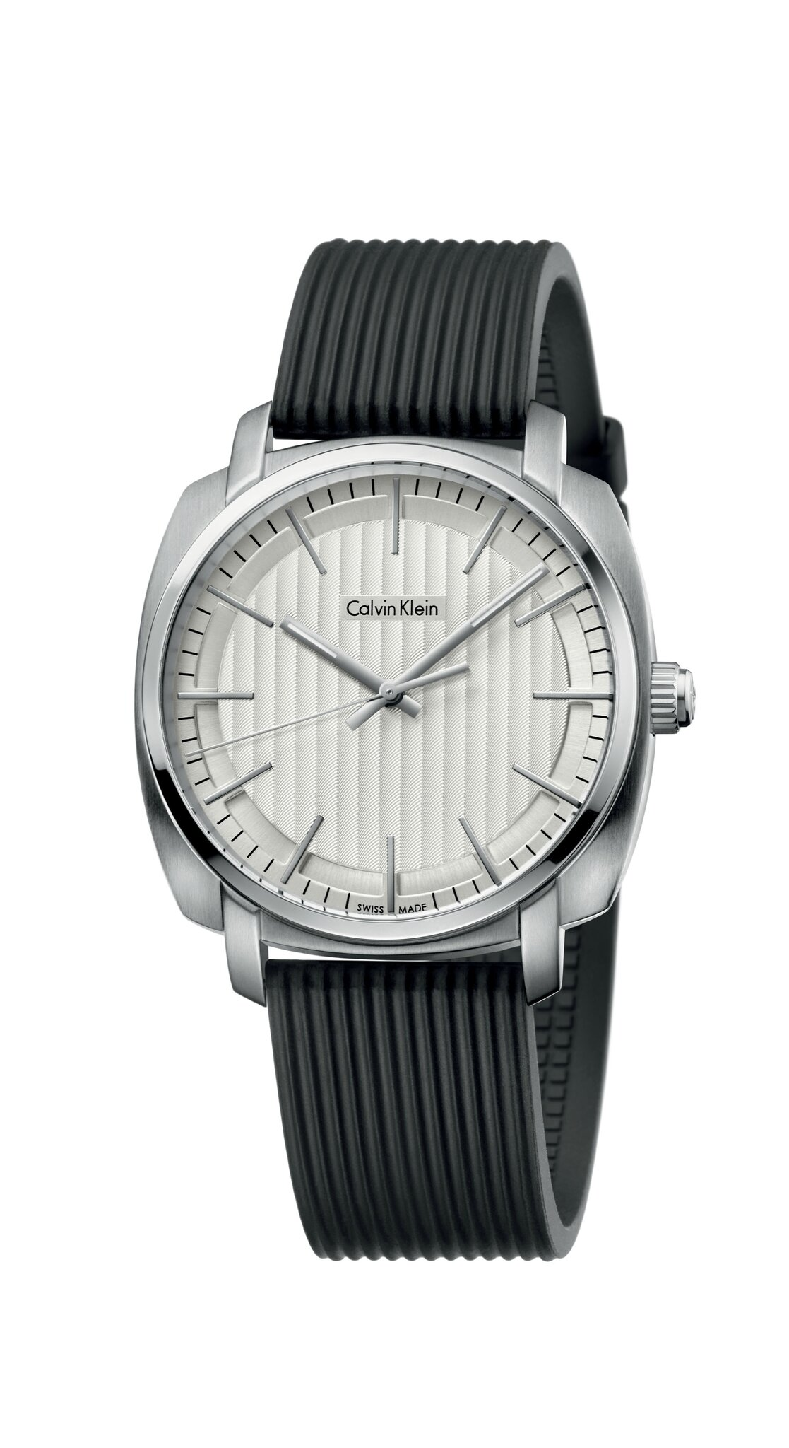 FW15_CalvinKlein_Watch_Gent_Highline_silver_rubber_220EUR