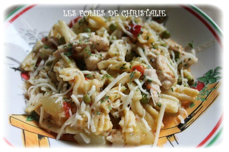 One pot pasta poulet 1