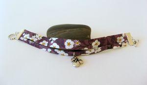 bracelet double mitsi prune 1