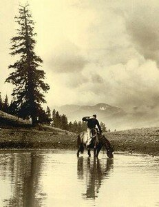 Cowboy_and_Horse__Belden
