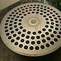 grille pour la fabrication des pâtes