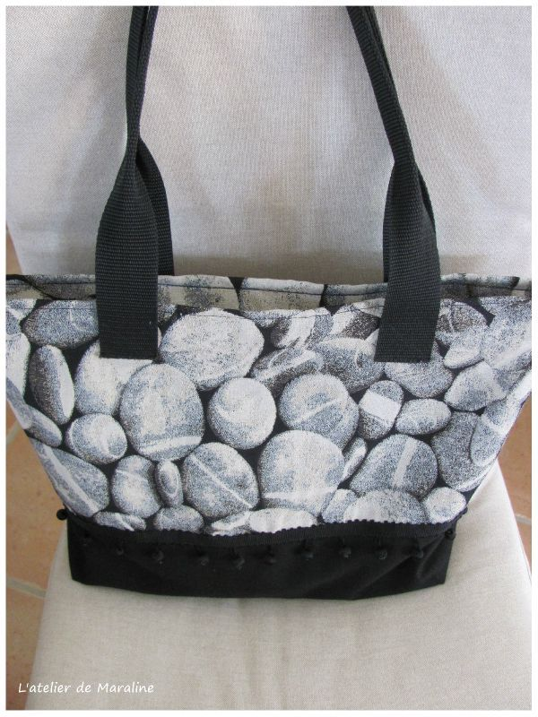 """Top Un sac """" kaba-zip"""" - L'atelier de Maraline FM62"""