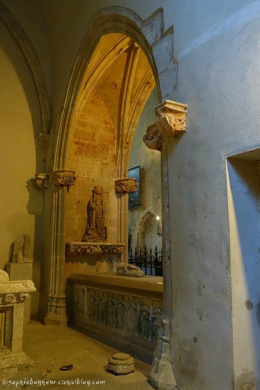 J2 Baume abbaye vue choeur soir
