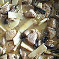 Sauté de porc façon asiatique