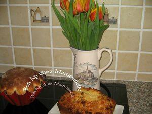 Cake aux canneberges et fruits confits 009