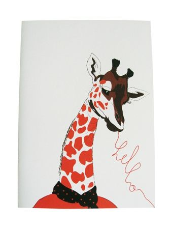 cahier girafe light
