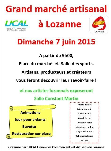 Affiche Lozanne 2015