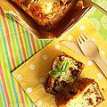 Cake aux tomates séchées, à la feta et au basilic
