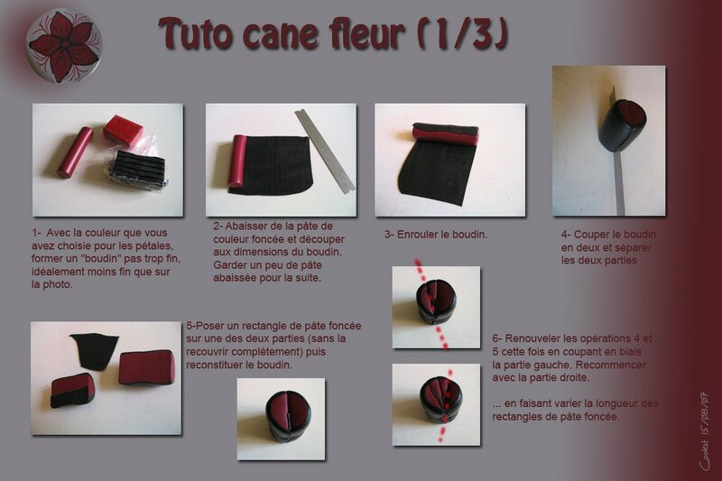 pate fimo cane tuto images. Black Bedroom Furniture Sets. Home Design Ideas