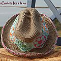Chapeau granny african flower...