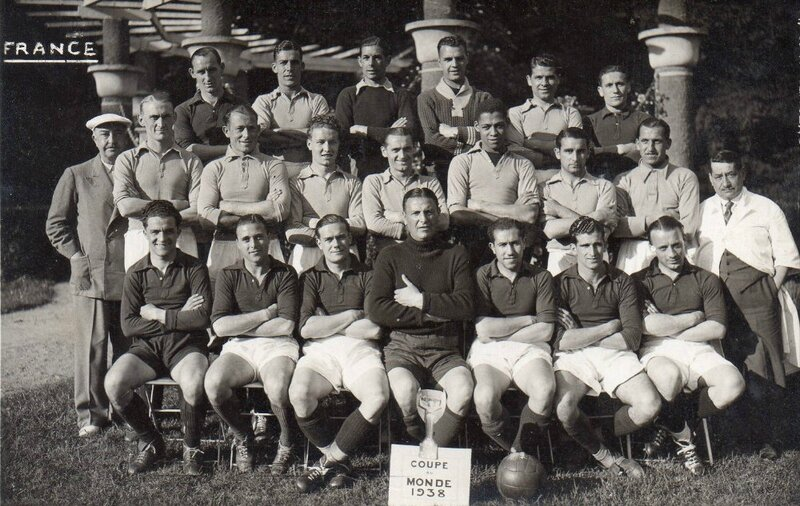 1938 Photo Equipe France