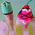 The serial crocheteuses n°234 : crochetez une glace