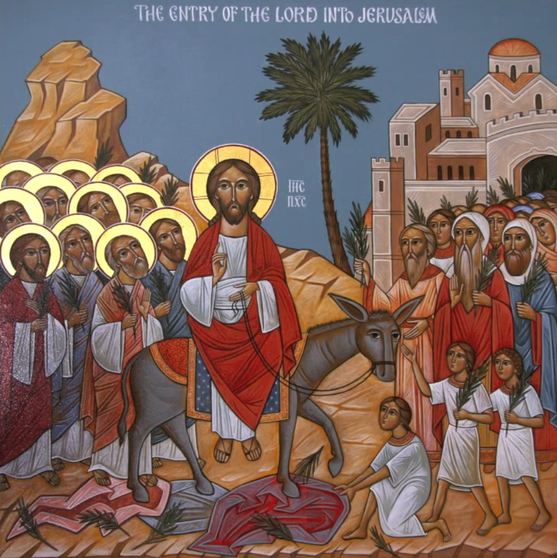 StGeorgeToledo - The Entry of the Lord into Jerusalem - Fr