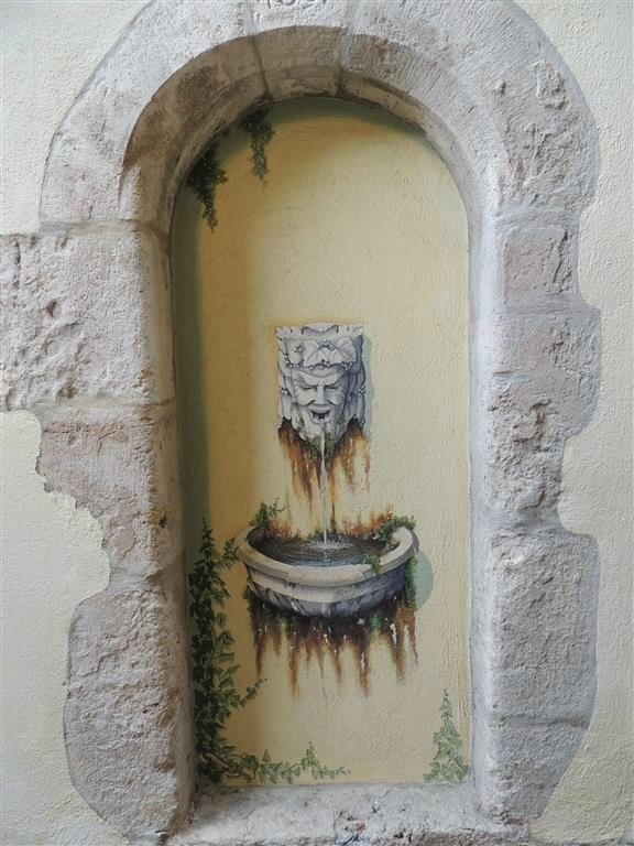 Peinture murale - Seillans (Var)