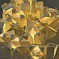 Nouveau : kit guirlande fleurs de lotus