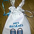sac baskets bleues