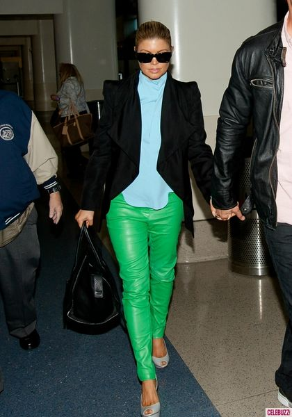 Fergie-Wears-Mint-Green-Leather-Pants-at-LAX-6-716x1024