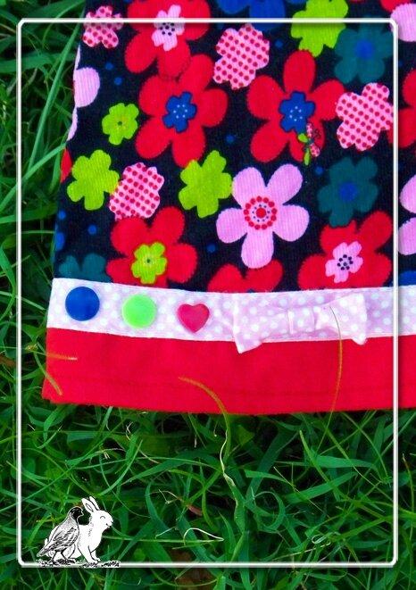 robe velour fleurs5