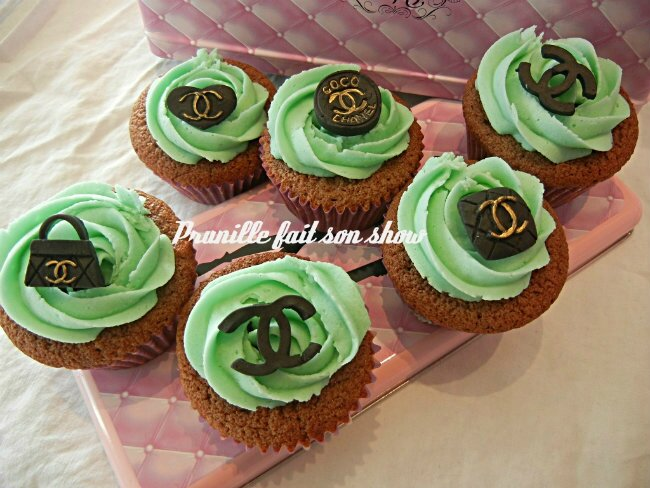 cupcakes chanel prunillefee