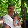 Raphal et son papa Denis