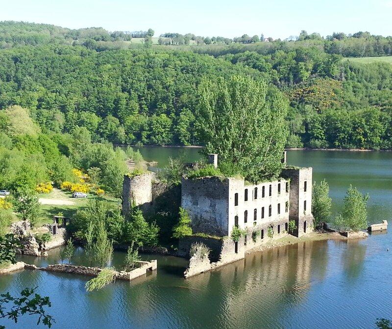 Château de Grandval Paulinet - Tarn - Photo M.Chauvin