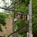 C'est Gay Gay Gay...STREET !!! in greenwich...