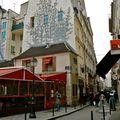 Instantané rue Saint-André des Arts.