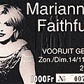 1999-11-14 Marianne Faithfull