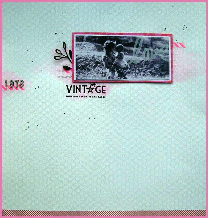 "Défi Scrapdiapo 36 - ""Vintage 1978"""