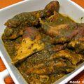 Saka-saka au poulet fumé