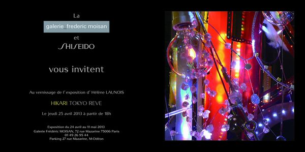 Invitation Hikari Tokyo Rêve