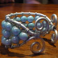 bracelet bleu 2
