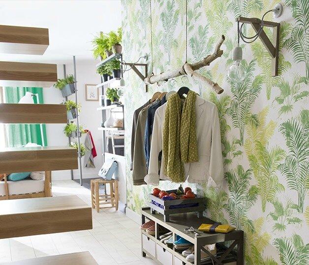 papier-peint-entree-maison-3-d233co-faire-entrer-la-nature-couloir-castorama-628x540
