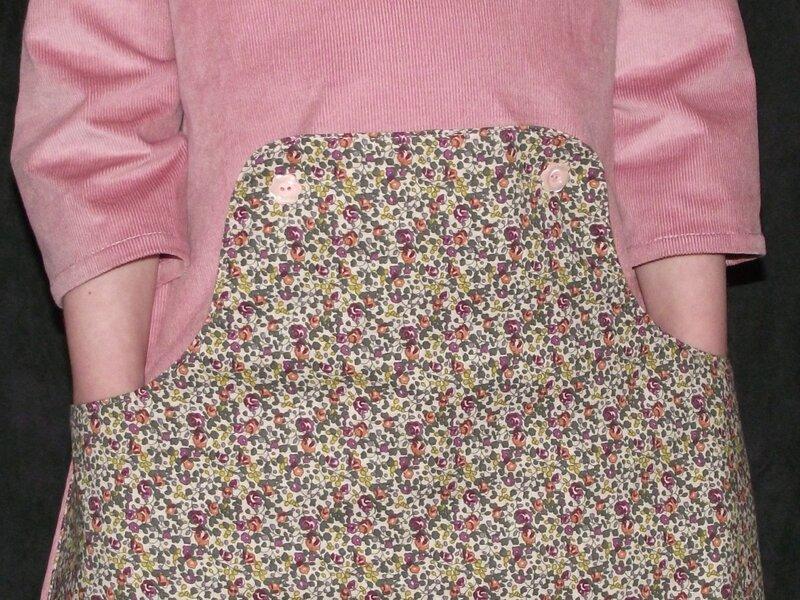 Louisa Dress Compagnie M 1000raies rose 4