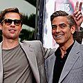 Brad Pitt-George Clooney