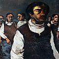 Un tableau de jean-claude bourgeois, un texte de michèle jourdan