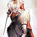 Arlésienne à cheval