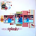 Splash!- dt absolument scrap